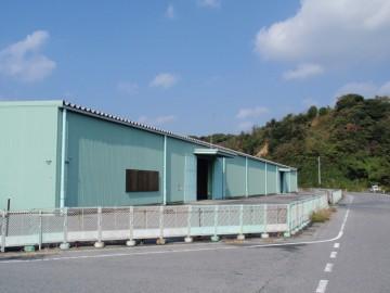 田名埠頭上屋倉庫